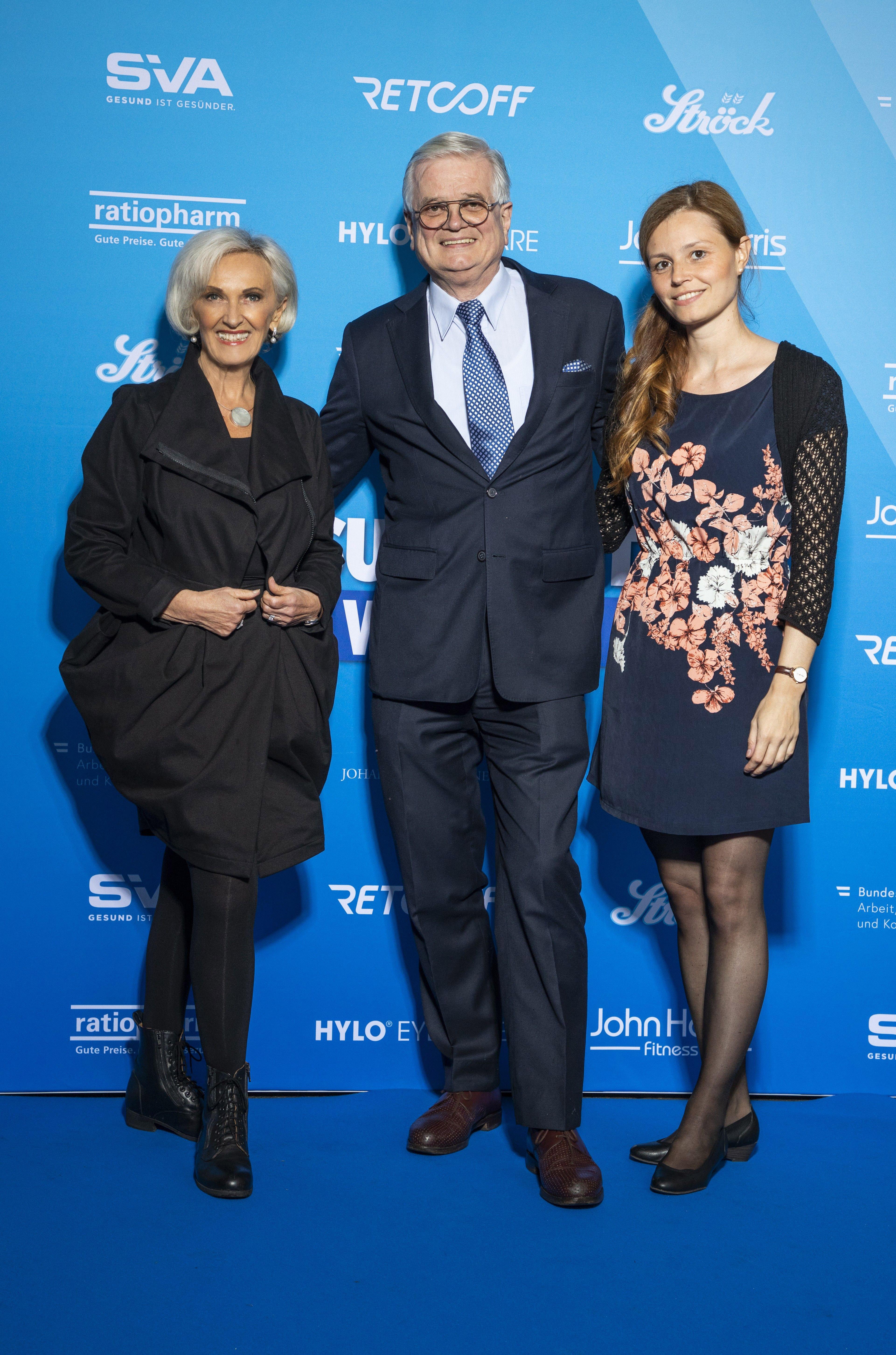 Waltraud Groll (PR Groll), Peter Groll (PR Groll), Nicole Pavlovic (Brand Manager Delta Pronatura)