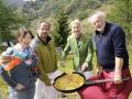 "1. transformale Gourmet Festival Hotel Ronacher""Frigga & Lamm"" mit Lydia Mischkulnig Michael Oberrauter, Simone Ronacher und Lojze Wieser©fritzpress"