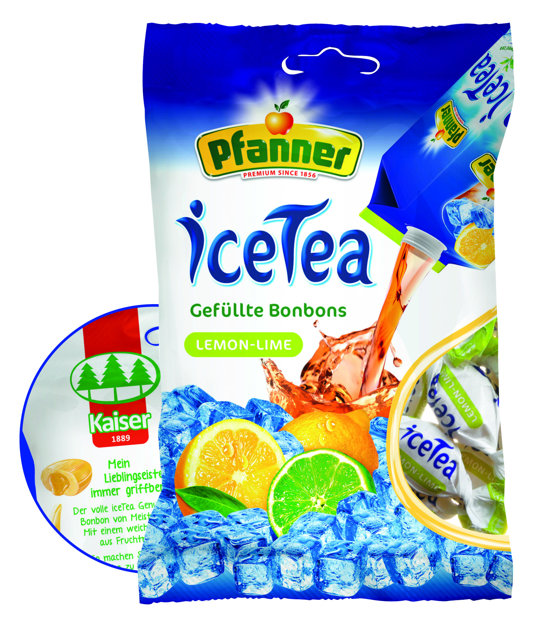 Kaiser iceTea Lemon-Lime