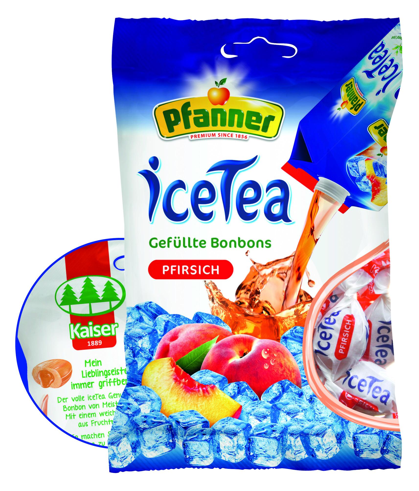 Kaiser iceTea Pfirsich