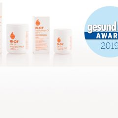 Bi-Oil ist Gewinner des gesund&fit Award 2019 in der Kategorie Skin Care